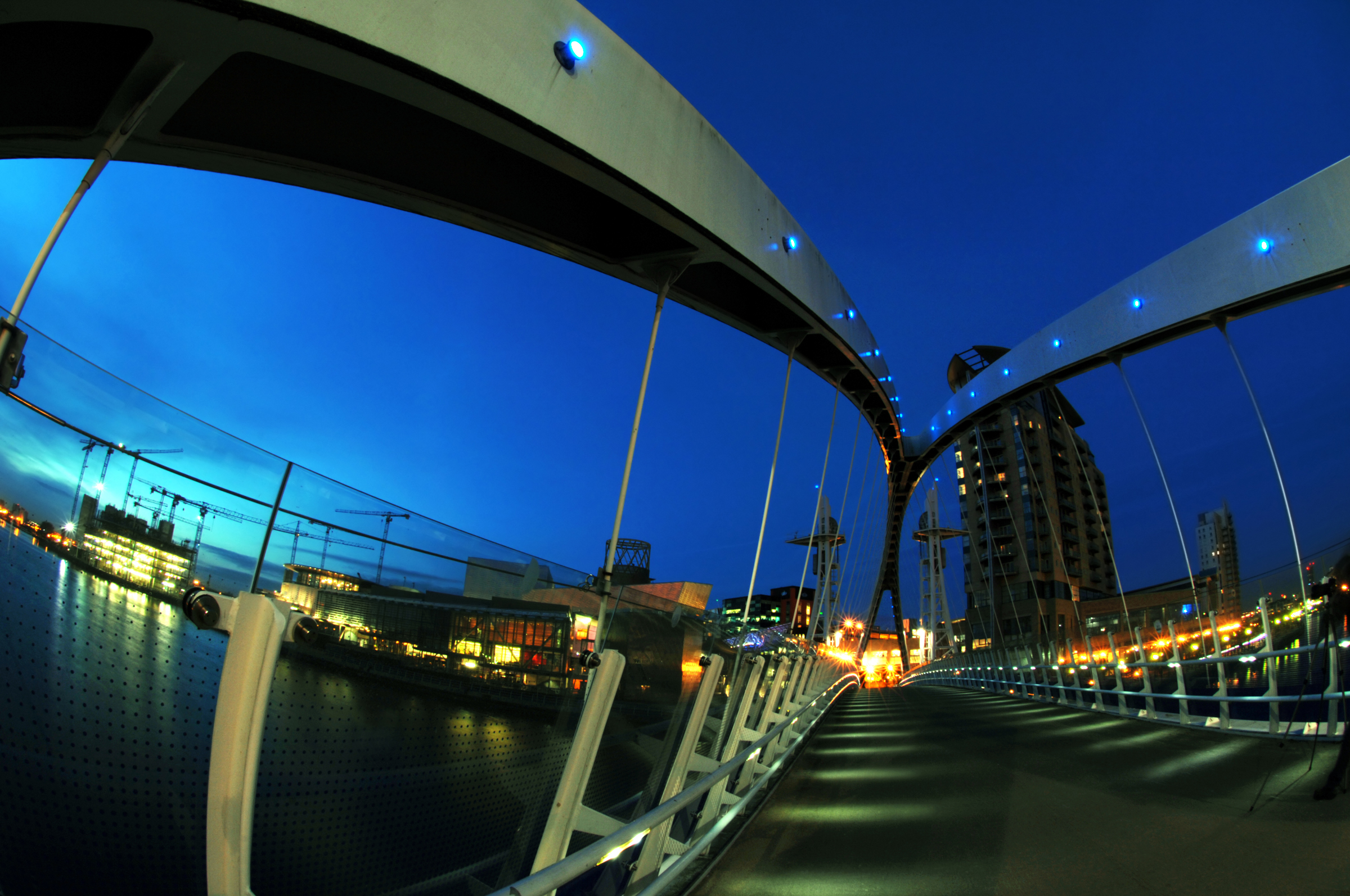 Millennium Bridge, Salford Quays