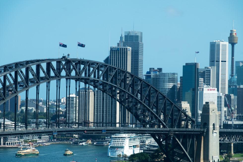 Harbour Bridge Close-Up