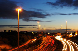 Motorway at Stockport