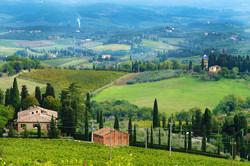 San Gimignano Scenery