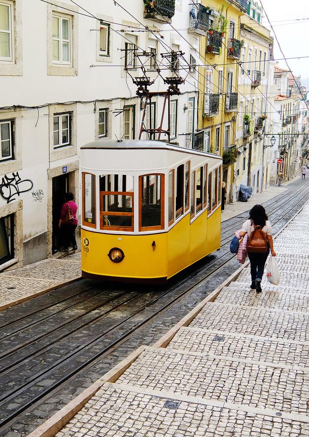 Elevador in Lisbon