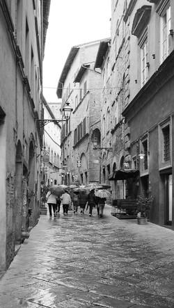 Rainy Day in San Gimignano