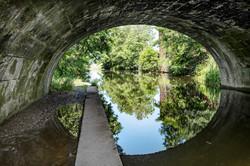 Under the Canal at Tarleton