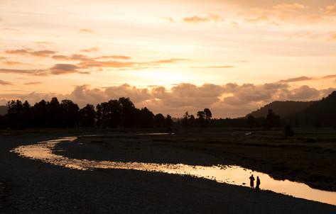 Sunset Near Lake Matheson