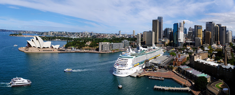 Ferries and the Opera House