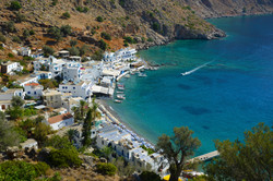 Loutro From Above