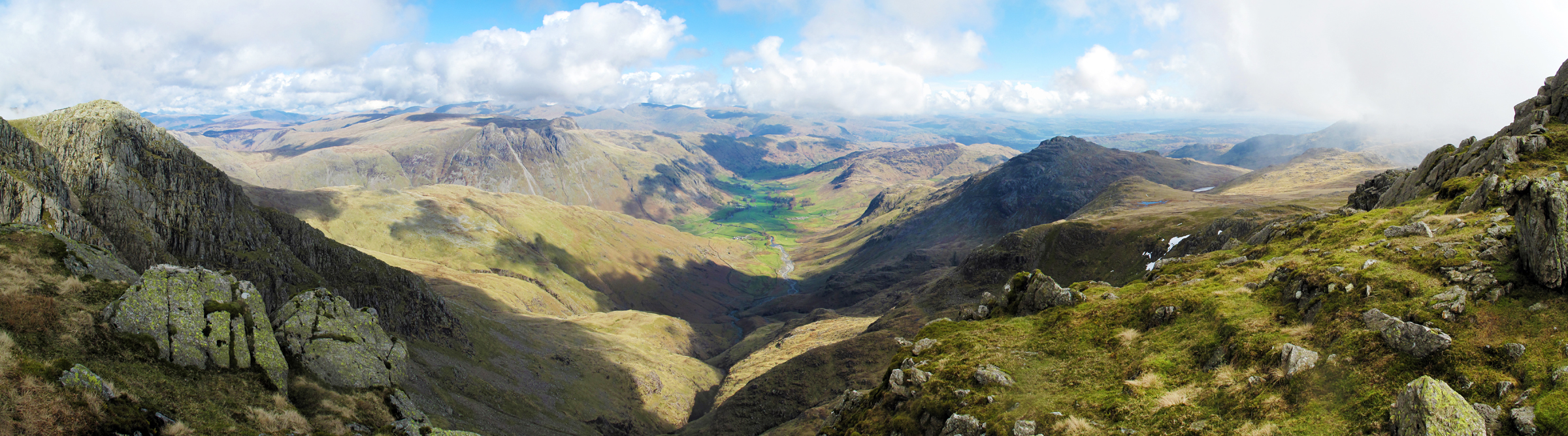 View From Crinkle Crags