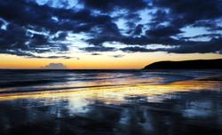 Stormy Devon Sunset