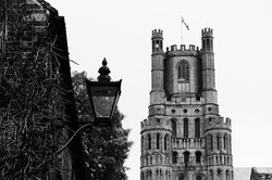Ely Cathedral and Lamp
