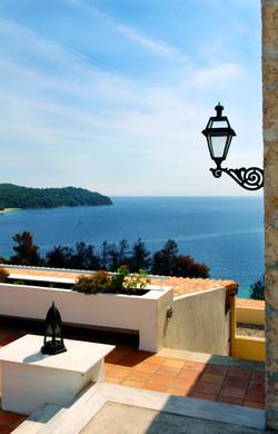 Aegean Sea and Lamp