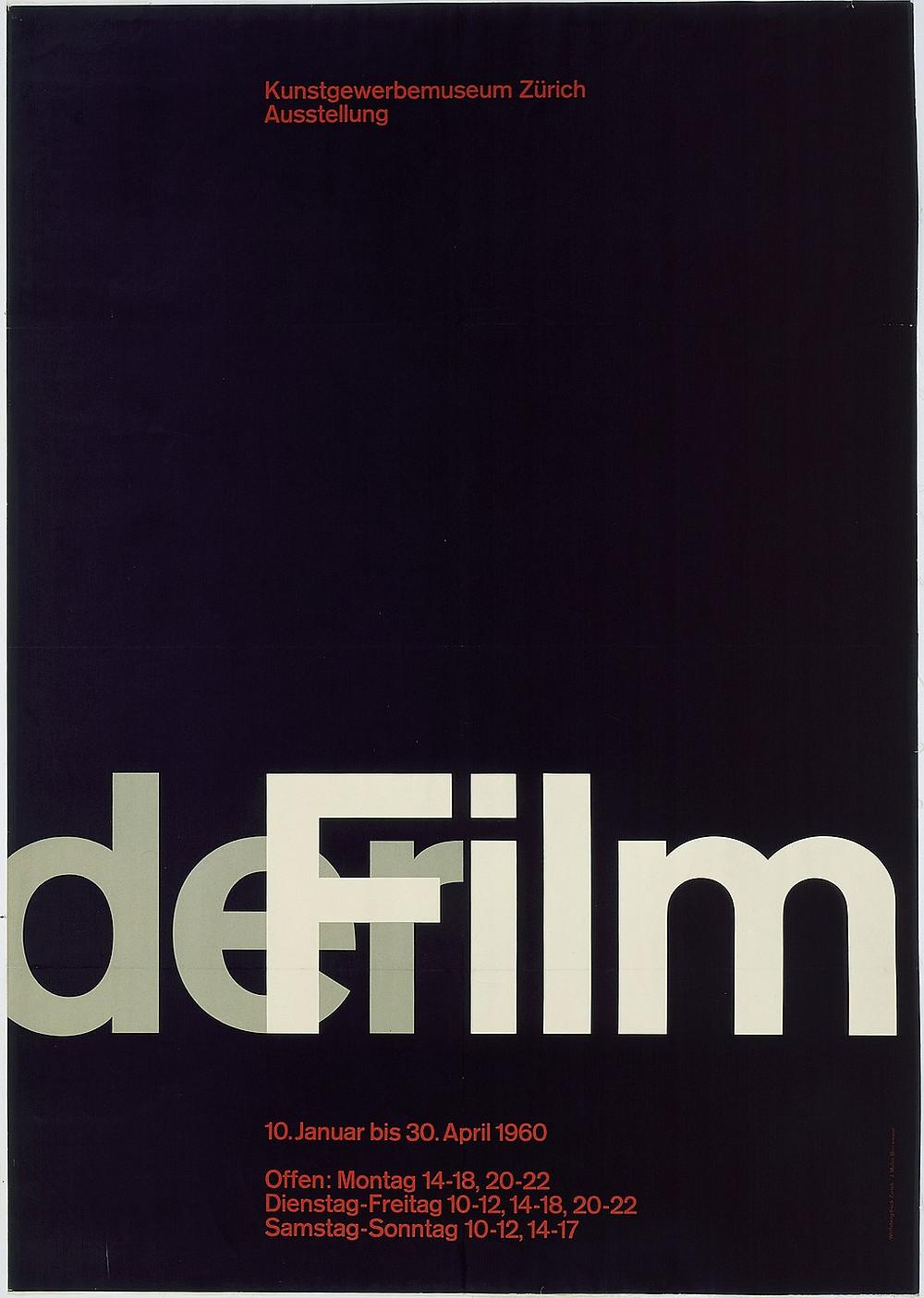 der Film | Josef Müller-Brockman | 1960