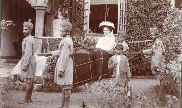 a colonialist woman