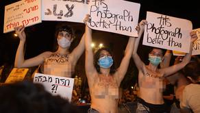 על גוף, עירום, מחאה ומגדר