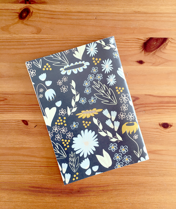 Color flowers notebook