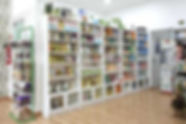 Herbolario tienda Gómez Failde