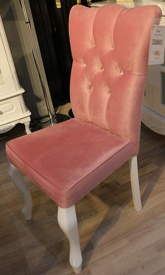Lale Stuhl, Esstischstuhl mit Strasssteine; passend zum Bihter Esstisch