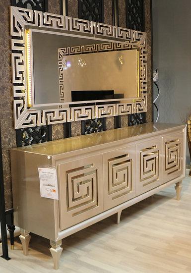 MBLS Versace Sideboard mit passendem Spiegel
