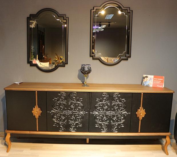 JHINDA Sideboard mit passendem Spiegel