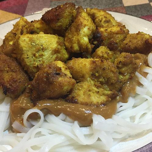 Satay Chicken Dinner