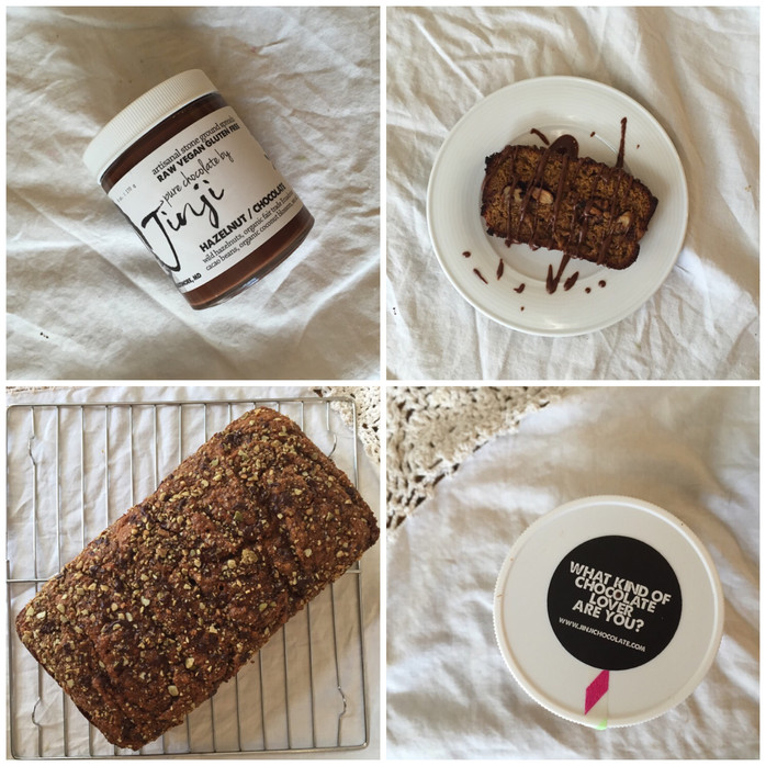 TABLE | Pure Chocolate by Jinji + Spiced Hazelnut Pumpkin Bread