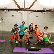 """""""Fitness for Autism"""" filming at DanceHubSA"""