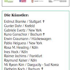 """독일 라데폰발트, 공공미술 50개 깃발프로젝트, 오픈에어 전시 """"Flagge zeigen-'50 Internationale Kunenstler Fahnen"""", Radevonwald"""