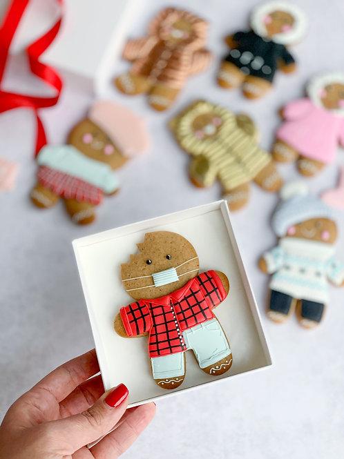 Masked Gingerbread man PRE-ORDER