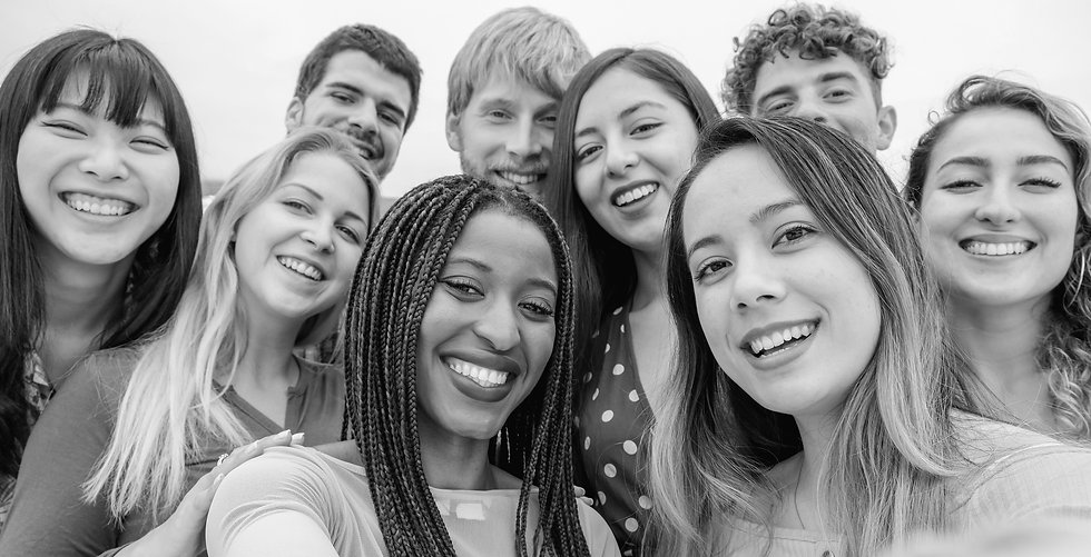 young-friends-from-diverse-cultures-races-taking-photo-making-happy-faces-youth-millennial