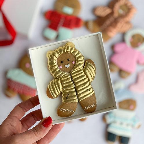 Puffer jacket Gingerbread man PRE-ORDER
