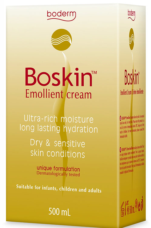 Boderm Boskin Emollient Cream 500ml