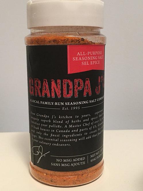 GRANDPA J's SEASONING SALT 1LB