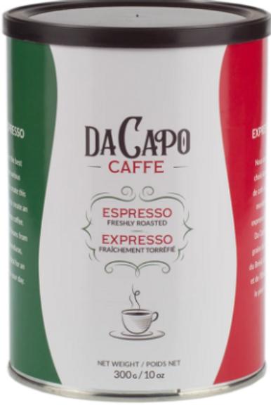 Da Capo Caffe Espresso Ground Coffee 300gr