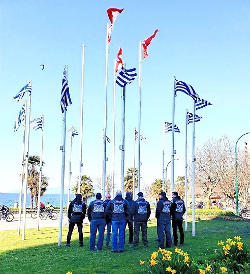Panhellenic Motorcycle Association - West Coast (Mortorcycle Riding Club ) Greek Candian Membership , Vancouver British Columbia (BC)