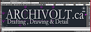 Archivolt Logo Drafting Drawing  Detail