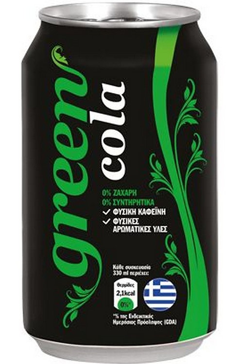 GREEN COLA - VARIES FLAVORS ( FLAT ) 24x330ml