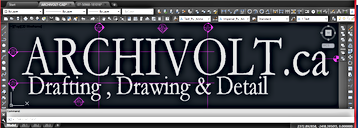 Archivolt Drafting Drawing Detail