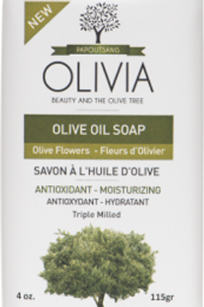OLIVE OIL SOAP - OLIVE FLOWERS 4 Pack