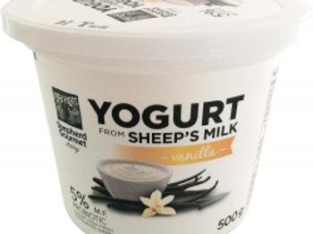 SHEEP'S MILK YOGURT - VANILLA 500gr