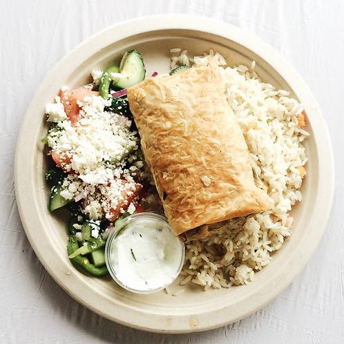 Spanakopita Dinner