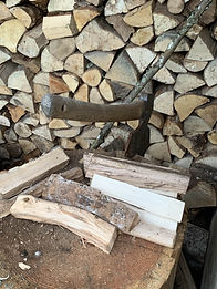 wood and axe