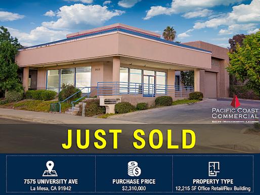Just Sold | La Mesa Free-Standing Flex Building