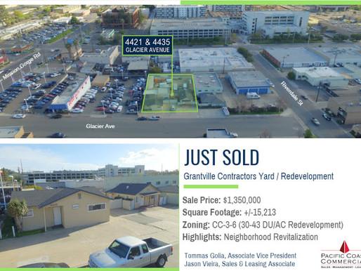 JUST SOLD -  Grantville Contractors Yard / Redevelopment