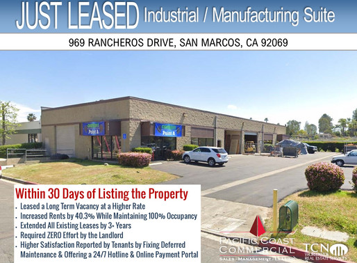 Leased within 30 Days of Listing | Industrial / Manufacturing Suite