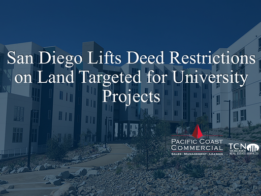 San Diego Lifts Deed Restrictions on Land Targeted for University Projects