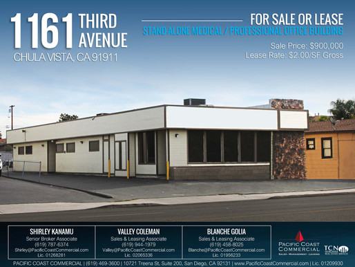 FOR SALE OR LEASE | Stand-Alone Medical / Professional Office Building