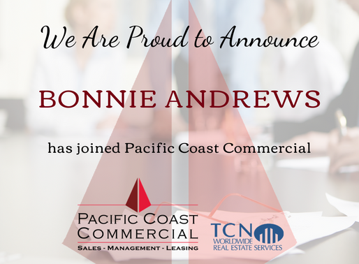 PCC Continues to Grow | Welcome to the Team Bonnie Andrews