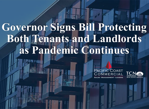 Governor Signs Bill Protecting Both Tenants and Landlords as Pandemic Continues