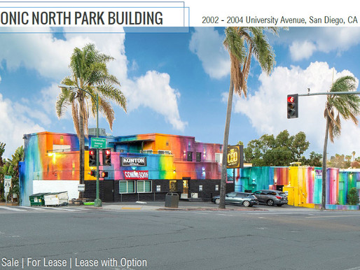 Iconic North Park Building for Sale/Lease/Lease with Option