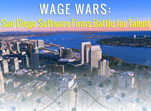 Wage Wars: San Diego Software Firms Battle for Talent