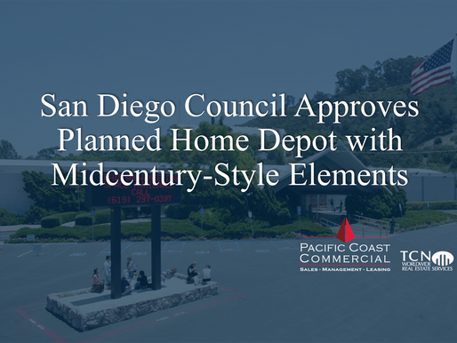 San Diego Council Approves Planned Home Depot with Midcentury-Style Elements